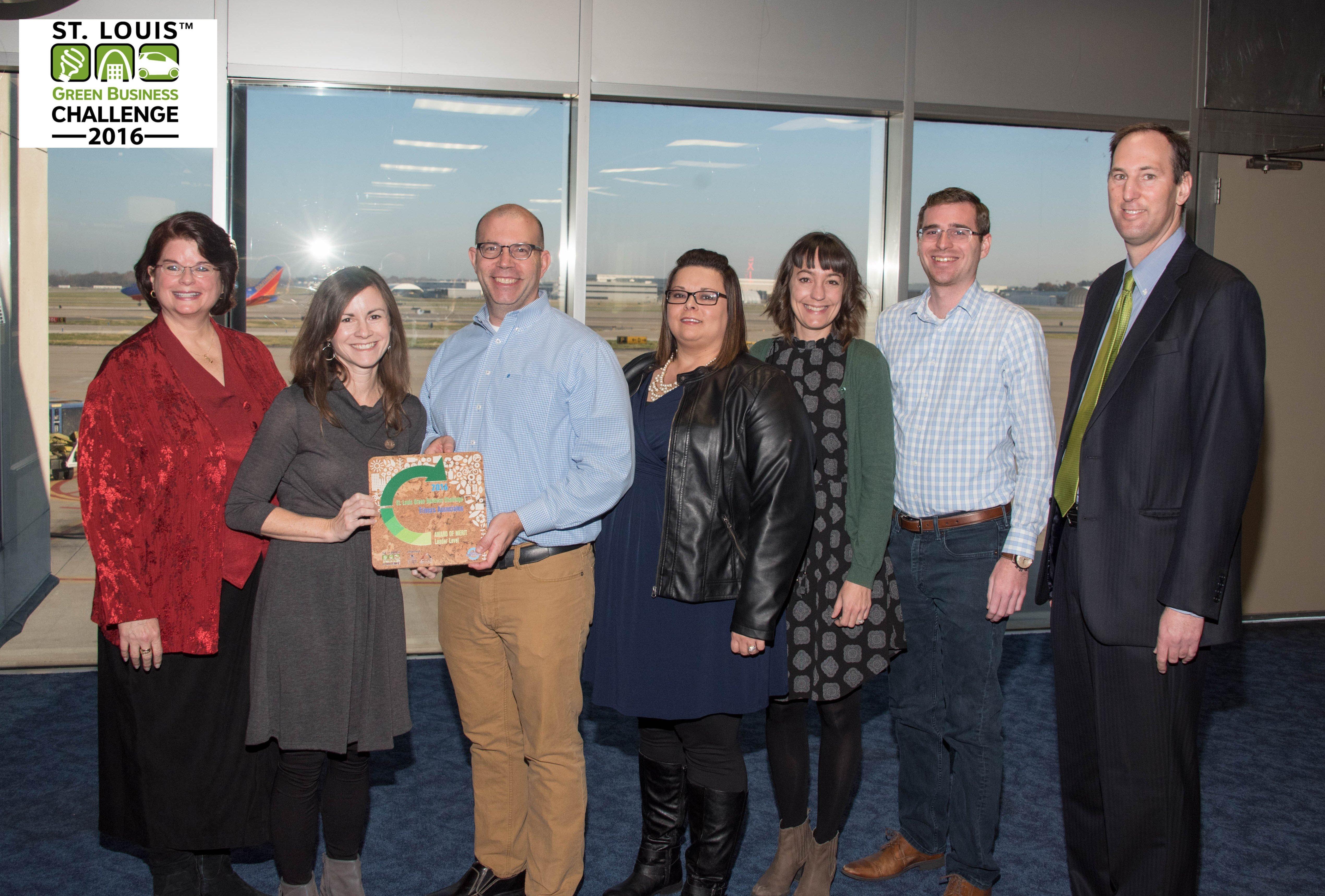 Trivers Associates receives an award